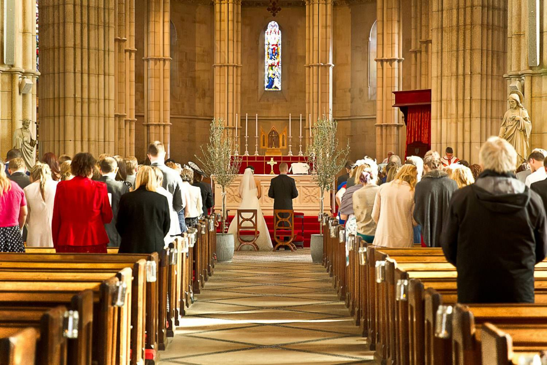 Arundel Cathedral Wedding