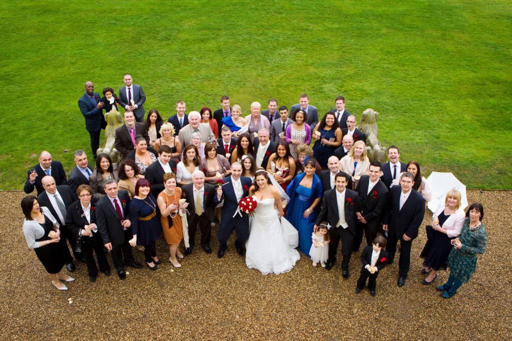 Gosfield Hall Wedding Photographer 44