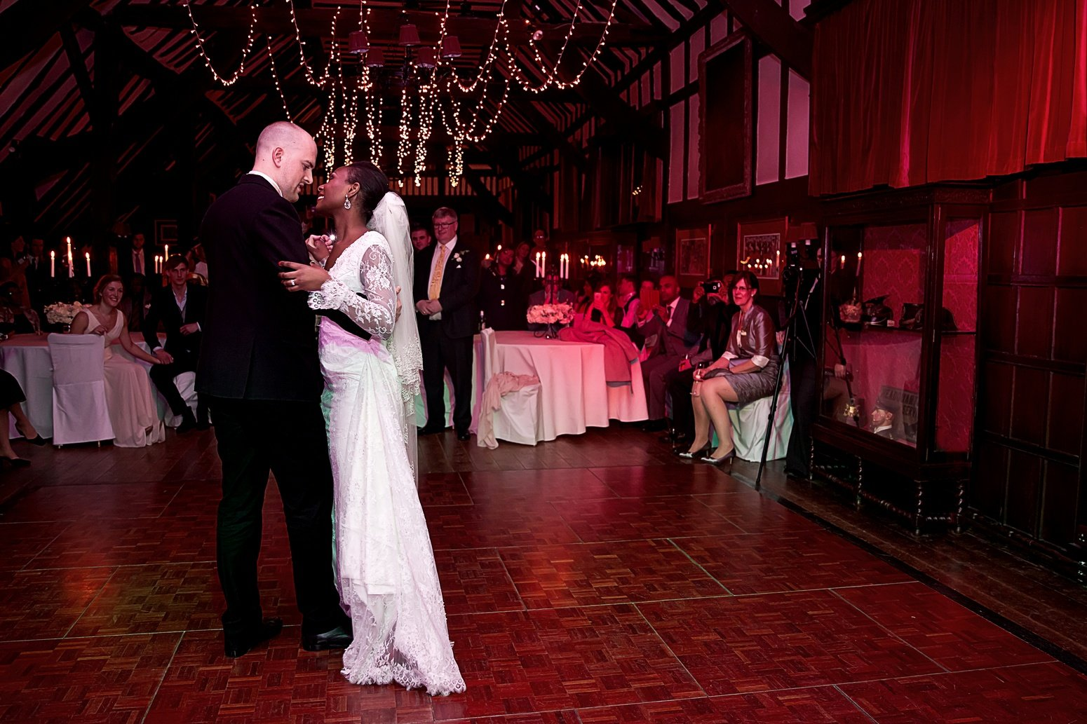 ramster hall winter wedding photography