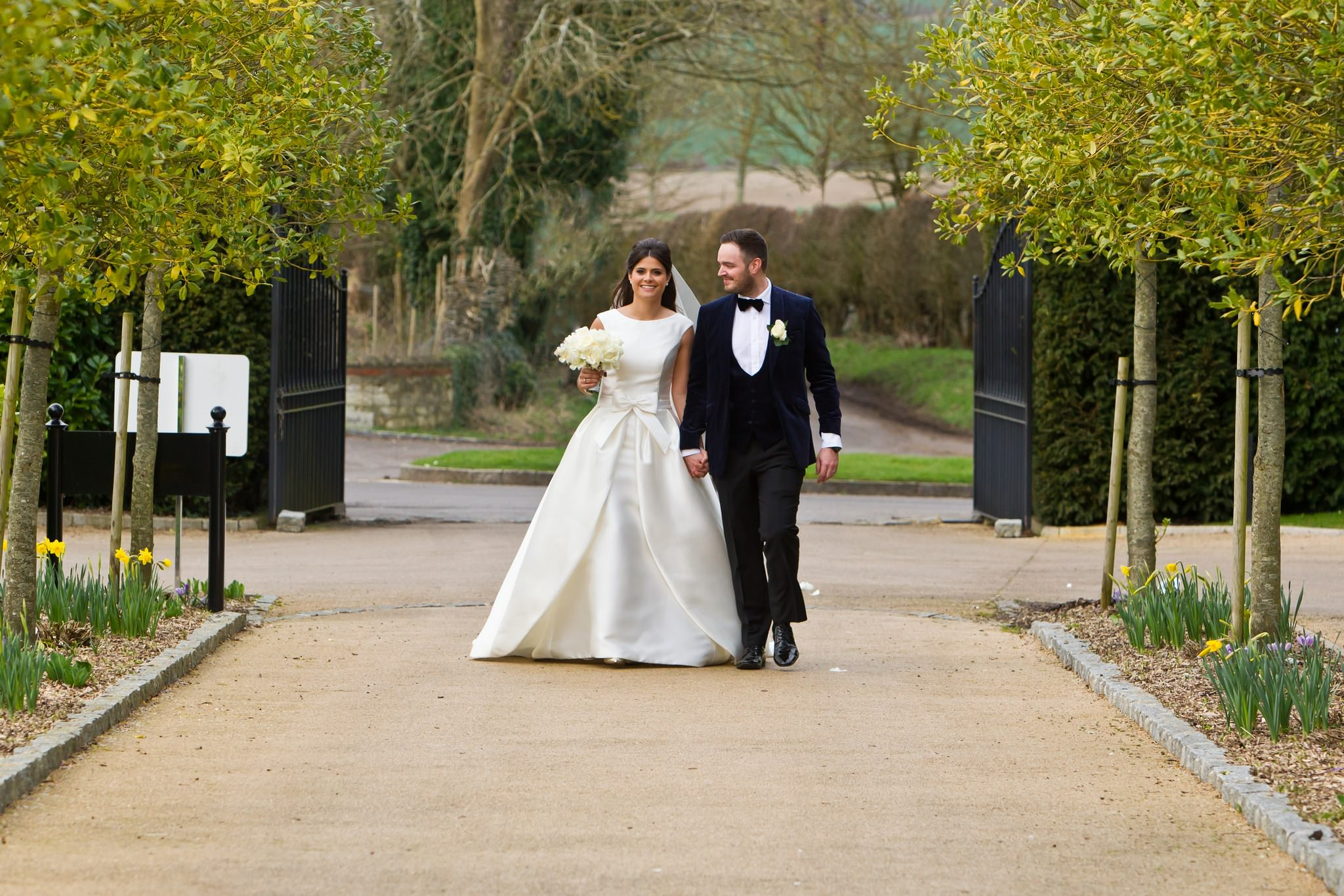 Froyle Park Winter Wedding