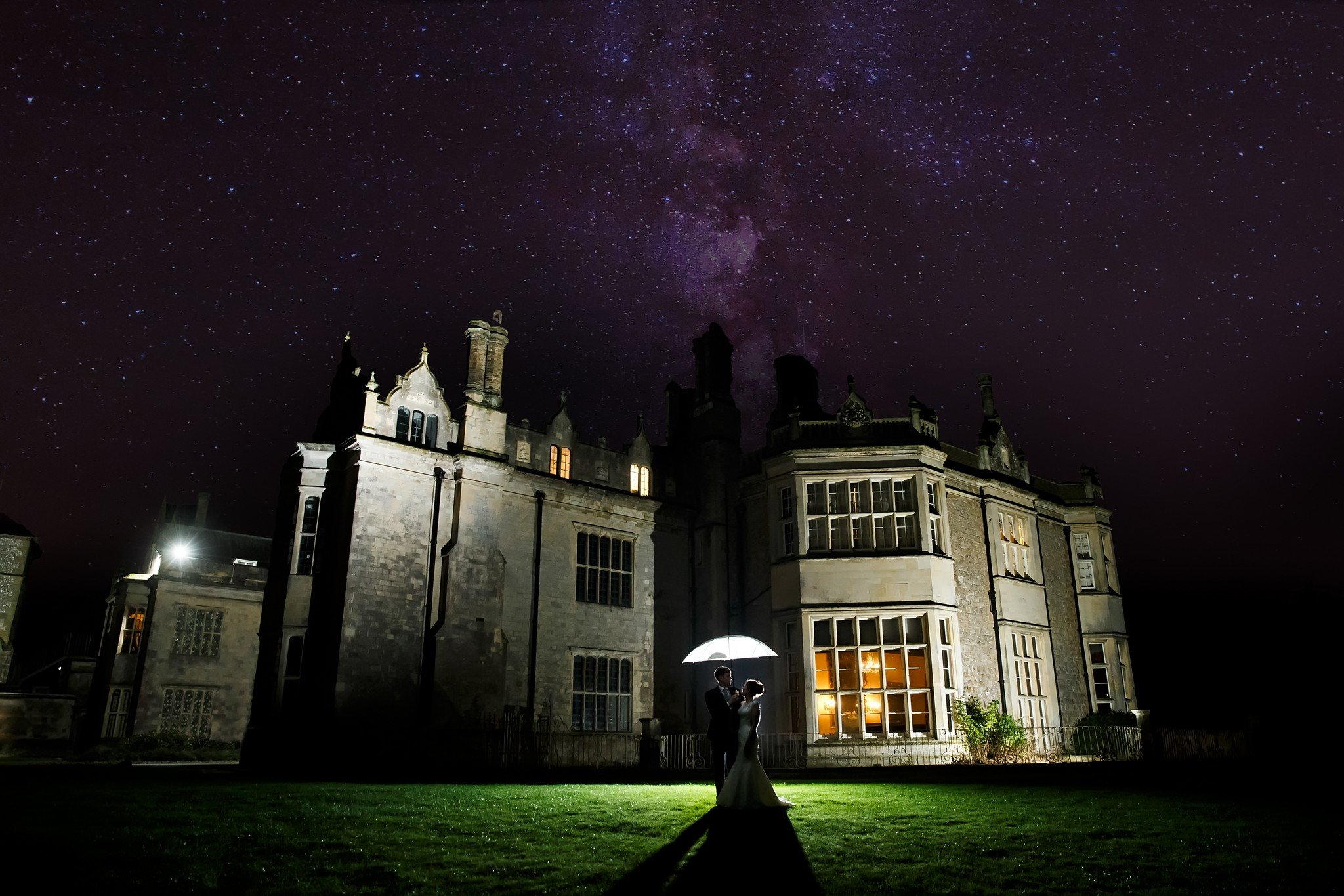 Wiston House Christmas Wedding