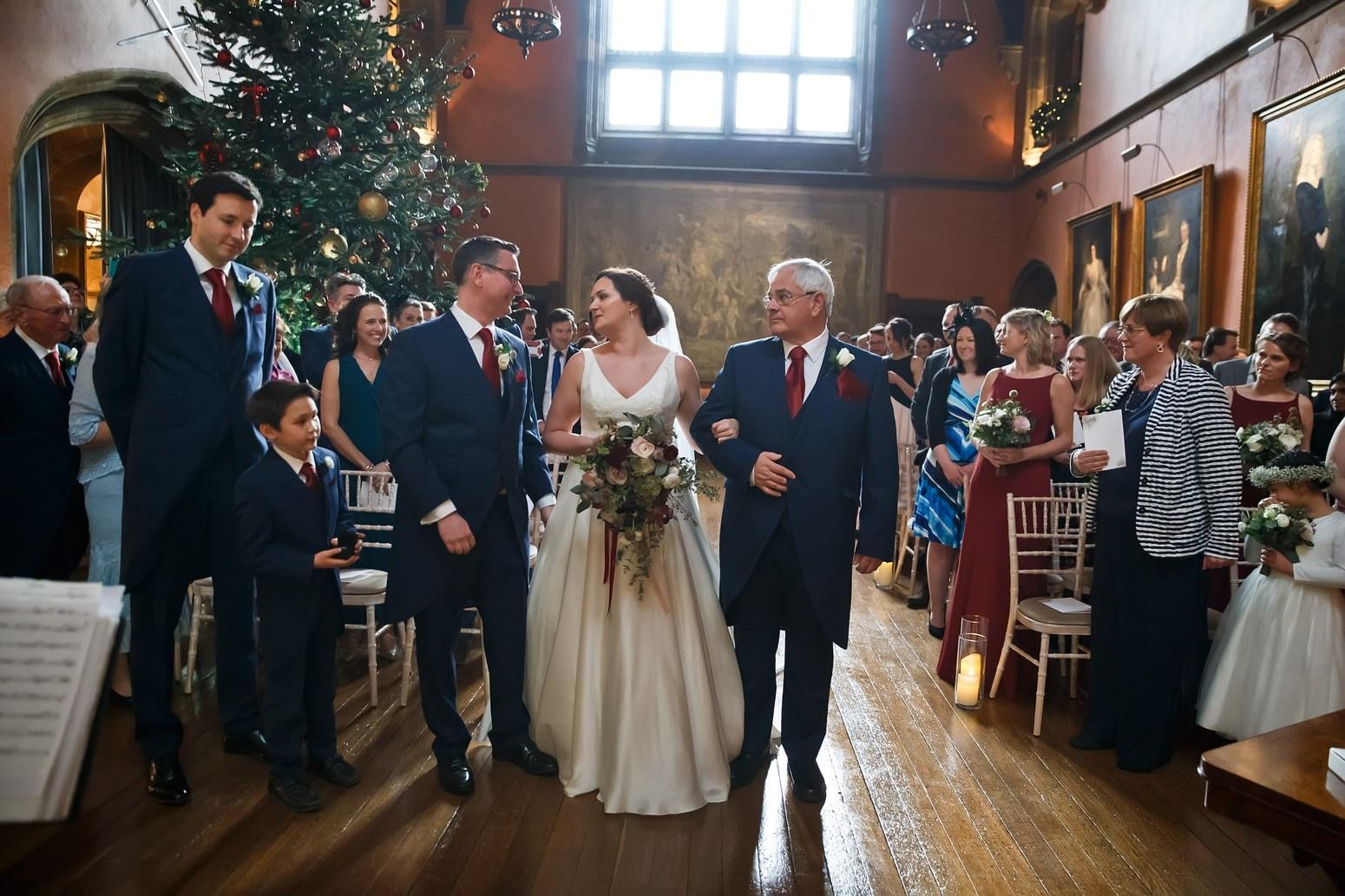COWDRAY HOUSE CHRISTMAS WEDDING SARAH & CHRIS