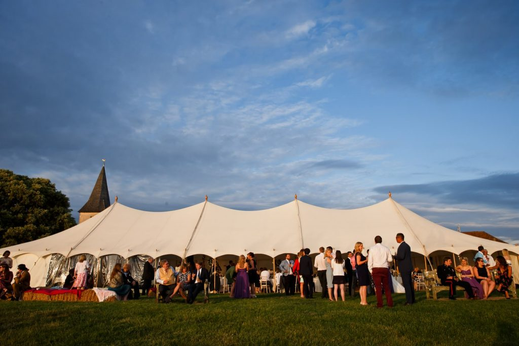 bosham marquee wedding