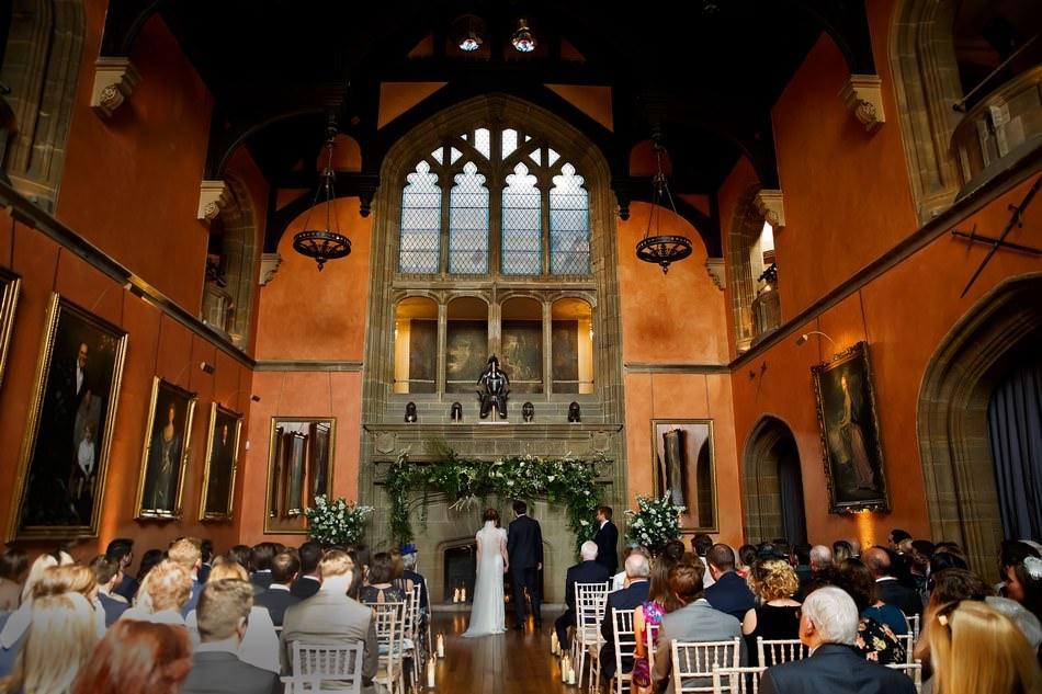 Cowdray House Buck Hall Ceremony