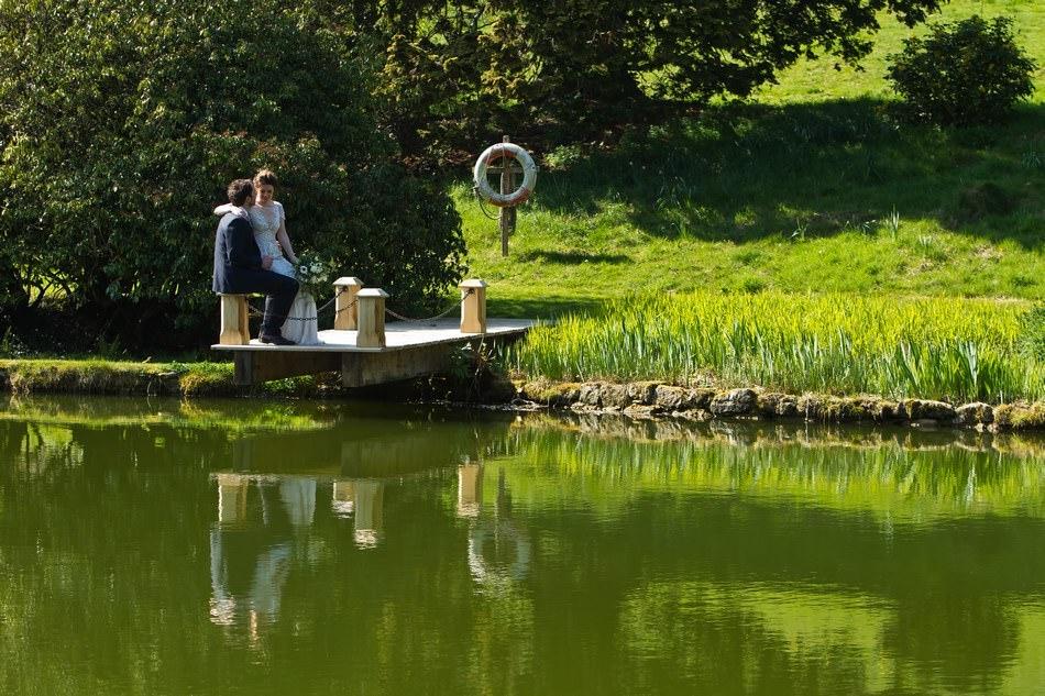 Cowdray House Lake