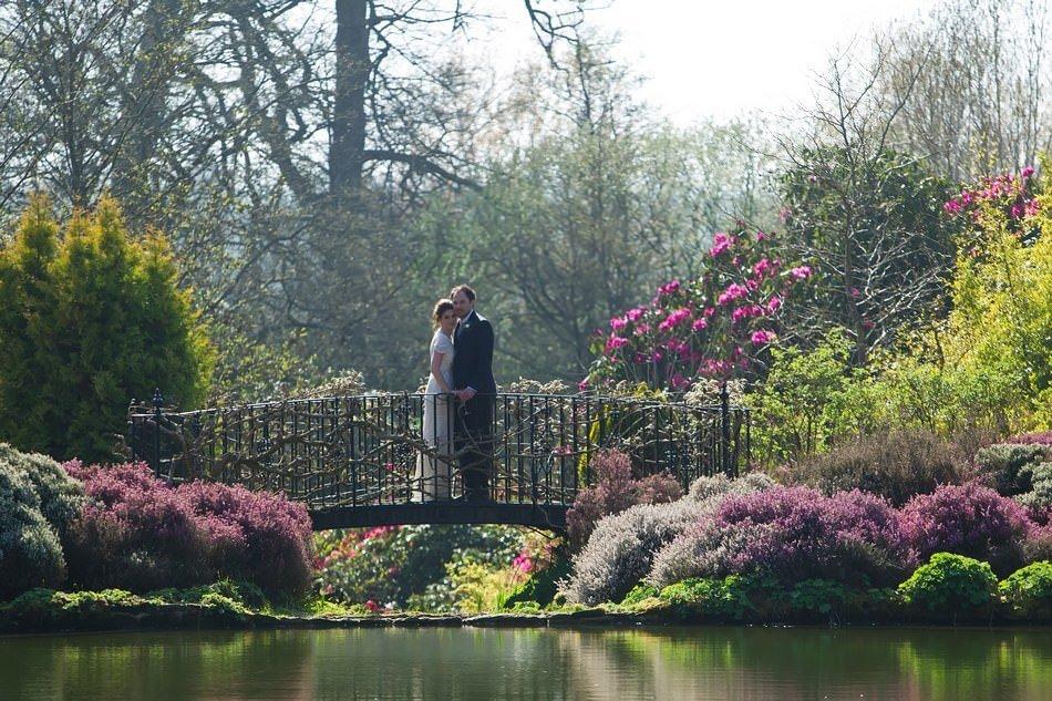 Cowdray House Wedding Photographers Bridge