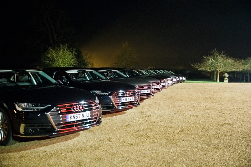 Cowdray House Audi A8 launch