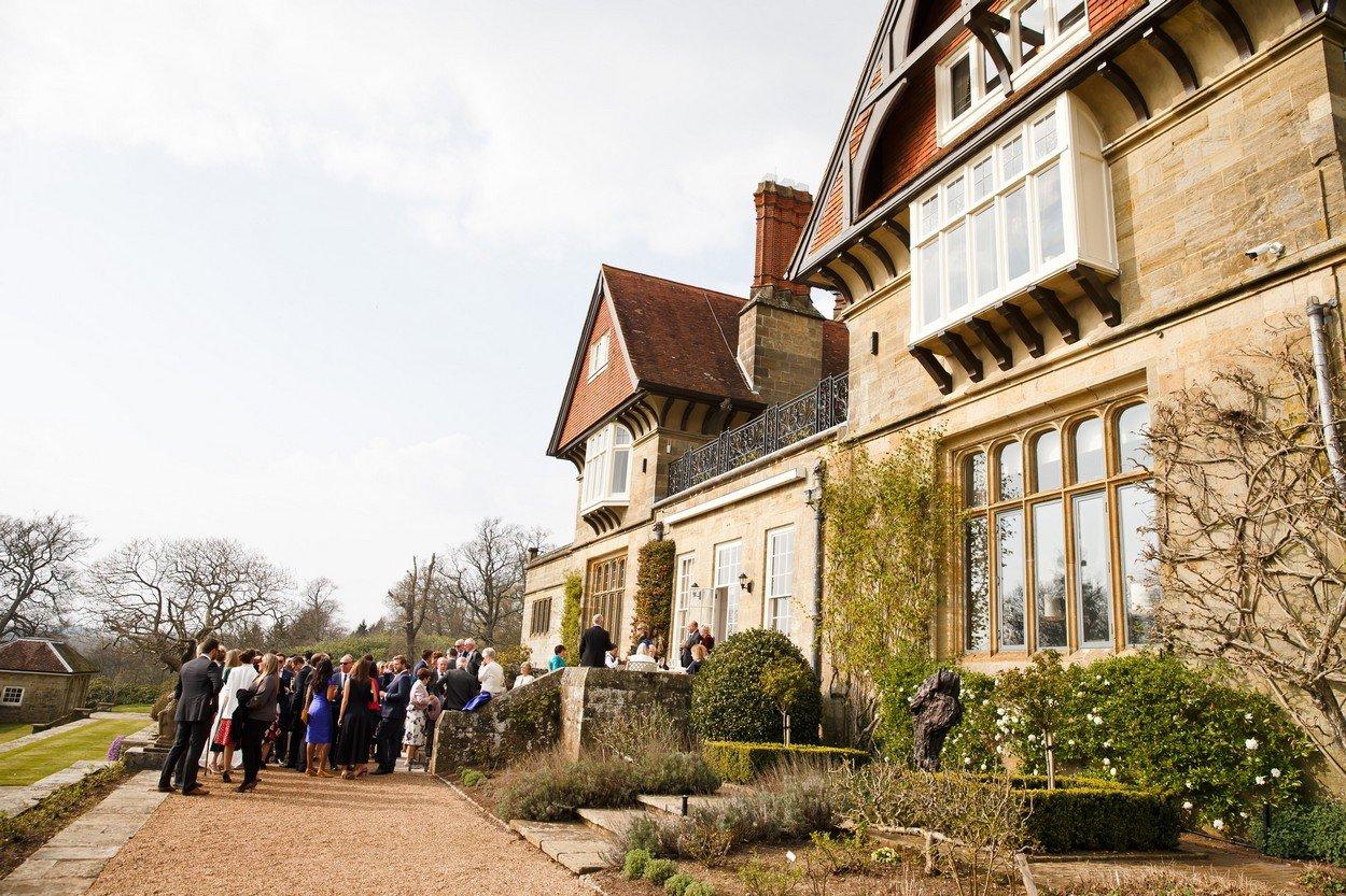 Cowdray House Wedding Joanne & Ian 86